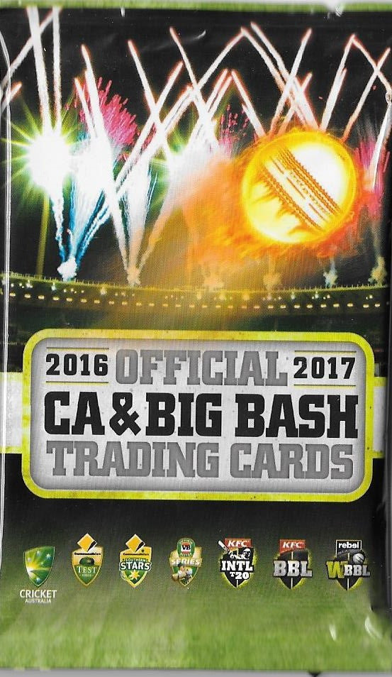 2016-17 TapnPlay CA & BBL Cricket Pack