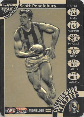 Scott Pendlebury, Star Wildcard, 2013 Teamcoach AFL