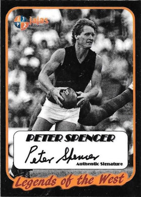 Peter Spencer, Legends of the West, Ja Ja's Collectables