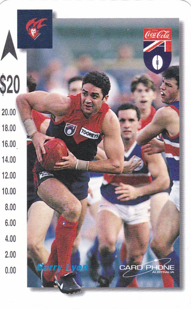 Garry Lyon Phone card