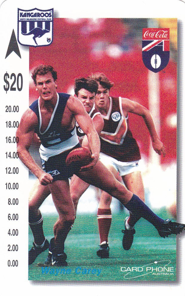 Wayne Carey Phone card