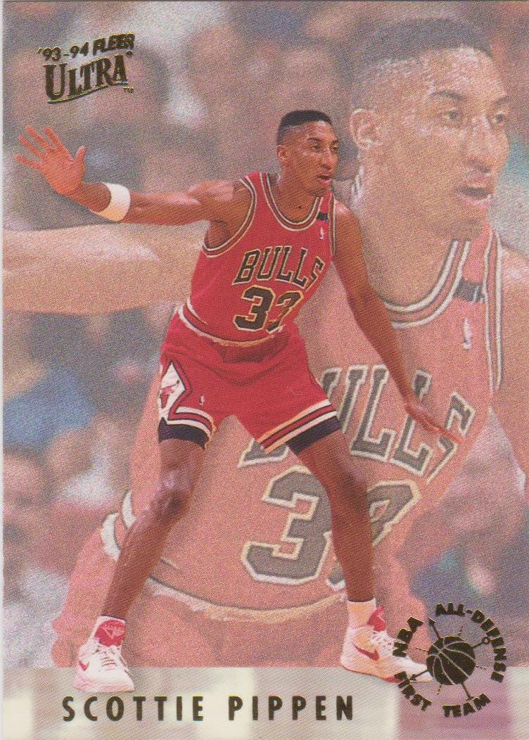 Scottie Pippen, All Defensive, 1993-94 Fleer Ultra NBA