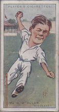 1926 John Player Cigarettes, Cricketers by RIP Set