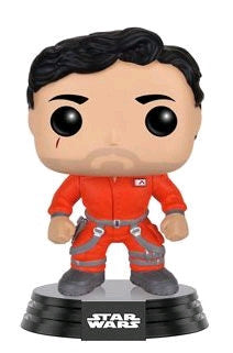 Poe Dameron Jumpsuit Episode VII The Force Awakens US Exclusive, Star Wars Pop Vinyl