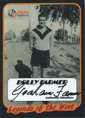 Polly Farmer, Legends of the West, Ja Ja's Collectables