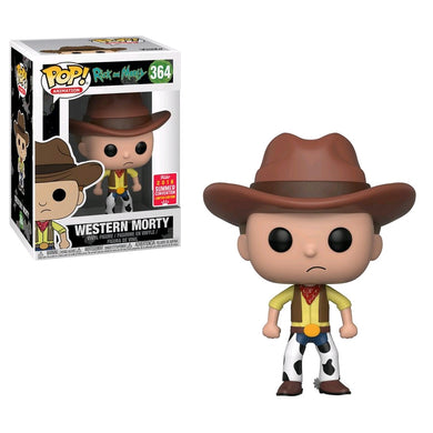 Rick and Morty - Western Morty SDCC 2018 US Exclusive Pop! Vinyl [RS]