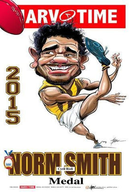 Cyril Rioli, 2015 Norm Smith Medal, Harv Time Poster