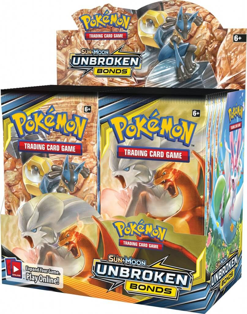 POKÉMON TCG Unbroken Bonds Booster Box