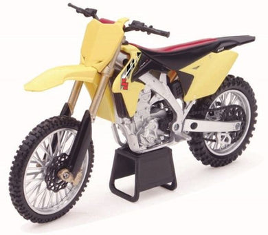 Suzuki RM-Z450 2014 Dirt Bike, 1:12 Diecast with Plastic