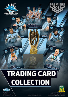 2016 Cronulla Sharks Premiers card set