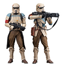STAR WARS Rogue 1 Shoretrooper 2 Pack Squad Leader & Captain ARTFX+ Statue