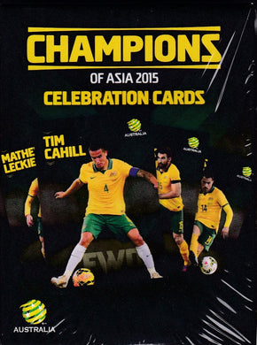 2015 Socceroos, Champions of Asia, Celebration Card Set
