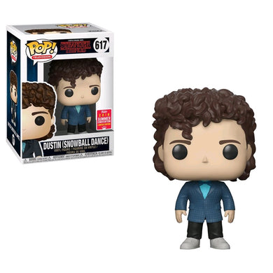 Stranger Things - Dustin Snowball Dance SDCC 2018 US Exclusive Pop! Vinyl [RS]