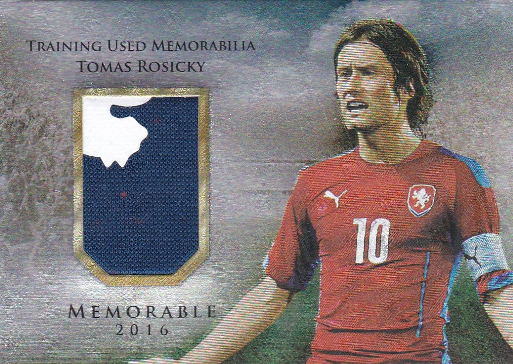 Tomas Rosicky, Memorable, 2016 Futera Unique Soccer