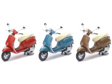 Vespa Primavera Bike, 1:12 Diecast with Plastic