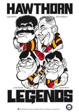 WEG Hawthorn Legends Poster