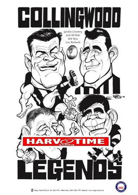 WEG Collingwood Legends Poster