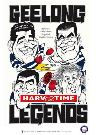 WEG Geelong Legends Poster