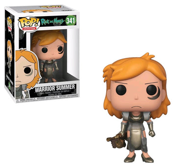 Warrior Summer, Rick and Morty Pop Vinyl