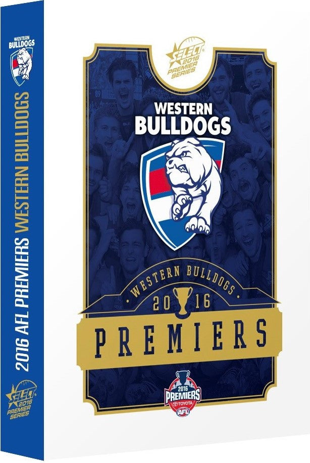 2016 Western Bulldogs Premiers card set