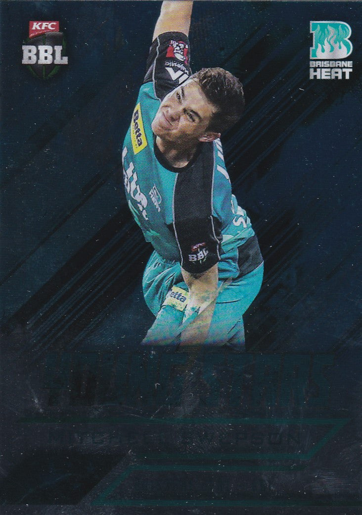 2016-17 Tap'n'play CA BBL 05 Cricket, Young Stars, Mitchell Swepson, YS-04