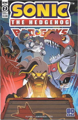 Sonic The Hedgehog Bad Guys, #2 Comic