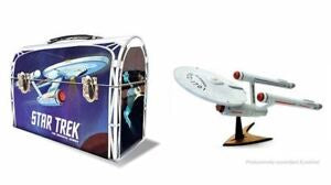 Star Trek Enterprise 1701 Lunch Box, Plastic Model Kit, 1:1000 Scale