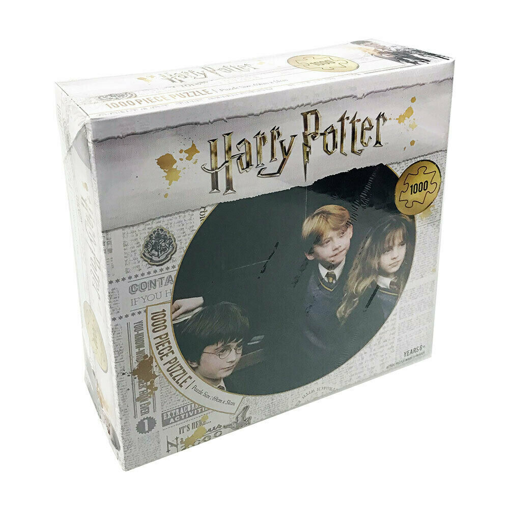 Harry Potter, HARRY, RON, HERMIONE, 1000 Piece Jigsaw Puzzle