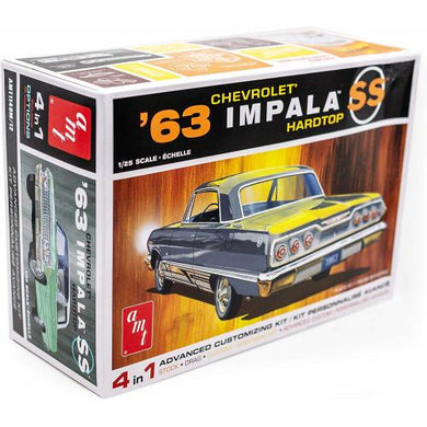1963 Chevrolet Impala SS Hardtop, 1:25 Scale Plastic Model Kit