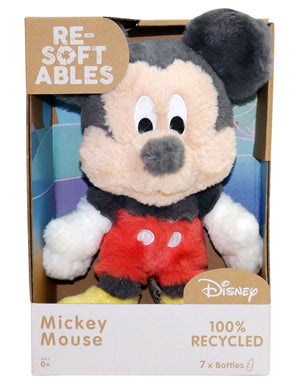 Disney Mickey Mouse Re-Softables Plush