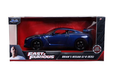 Fast & Furious - Brian's 2009 Nissan GT-R (R35) 1:24 Scale Diecast Vehicle