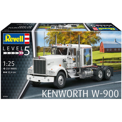 REVELL KENWORTH W-900 Truck Model Kit