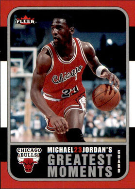 Michael Jordan, Greatest Moments, MJ2, 2006-07 Fleer Basketball NBA