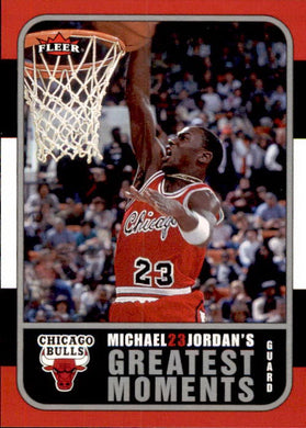 Michael Jordan, Greatest Moments, MJ1, 2006-07 Fleer Basketball NBA