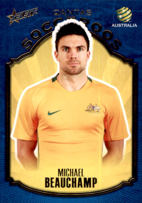 Michael beauchamp, Qantas Socceroos, 2009 Select A-League Soccer