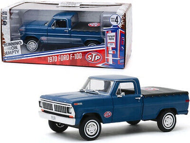 1970 Ford F-100, STP, Running on Empty, 1:24 Diecast Vehicle