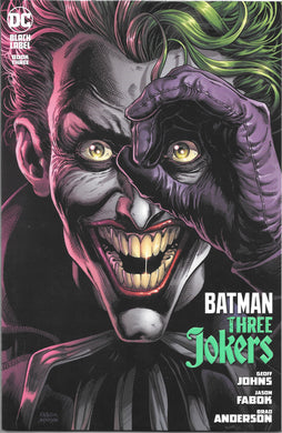 Batman Three Jokers Book Three Comic, Black Label
