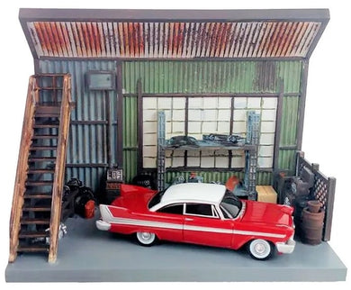 Johnny Lightning CHRISTINE with Scenic Display, 1:64 Scale Diecast Vehicle