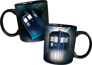 Doctor Who - Disappearing TARDIS Heat Changing Mug