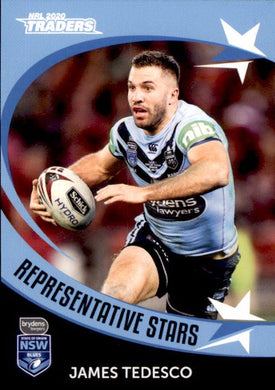 RS24 James Tedesco, Representative Stars, 2020 TLA Traders NRL