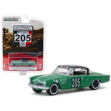 1953 Studebaker Champion, #205, La Carrera Panamericana, 1:64 Diecast Vehicle
