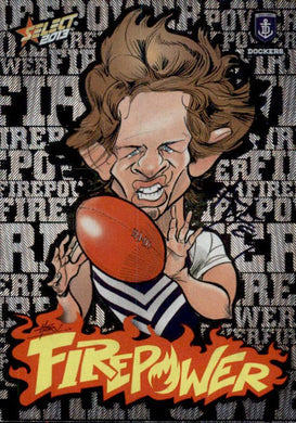 Nat Fyfe, Firepower Caricatures, 2013 Select AFL Champions