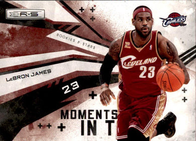 Lebron James, Moments in Time, 2010-11 Panini Rookies & Stars NBA Basketball
