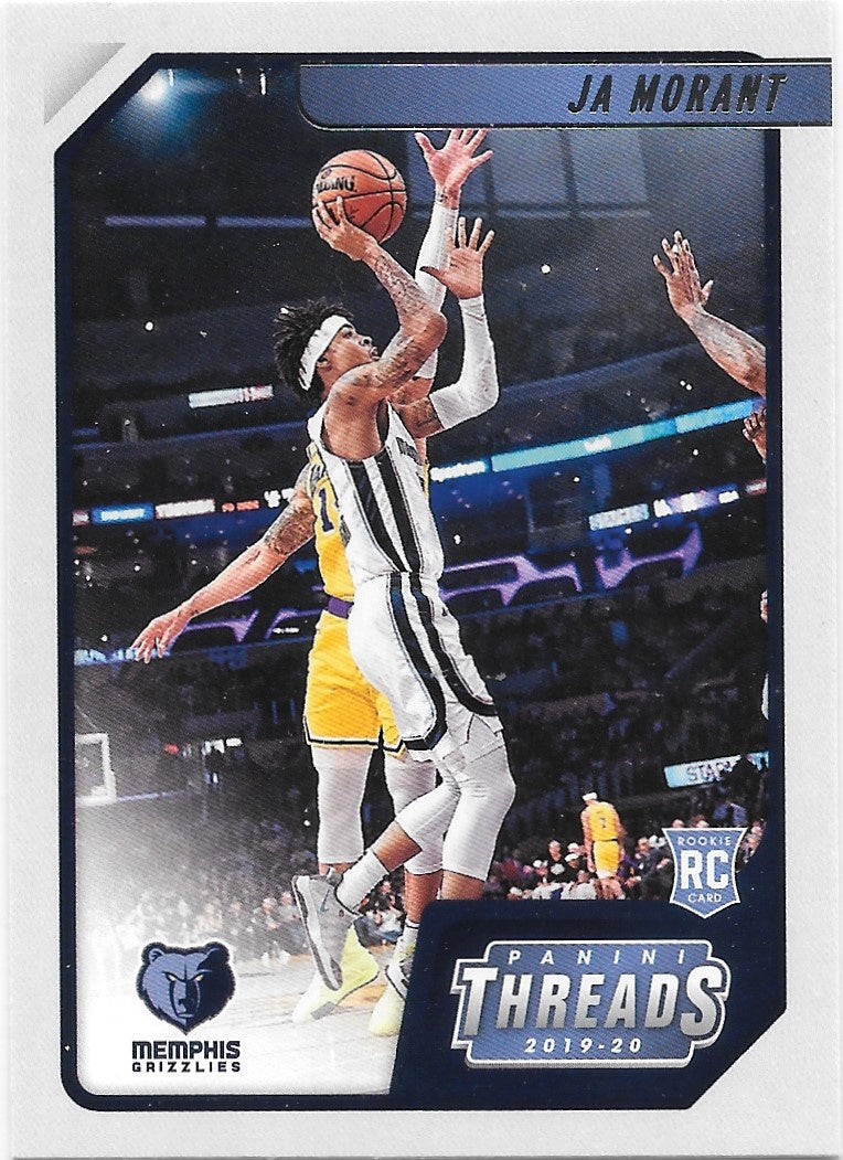 JA Morant, RC, Threads, 2019-20 Panini Chronicles NBA Basketball