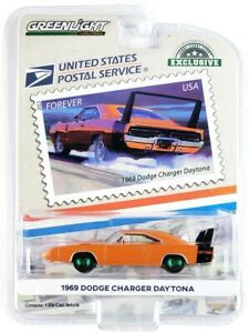 1969 Dodge Charger Daytona, United Postal Service, 1:64 Diecast Vehicle