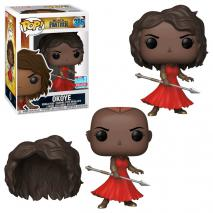 Black Panther - Okoye with Red Dress NYCC 2018 Exclusive Pop! Vinyl [RS]