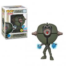 Fallout - Assaultron Invader Glow NYCC 2018 Exclusive Pop! Vinyl [RS]