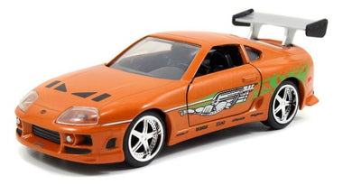 Fast & Furious, Brian's Toyota Supra Orange, 1:24 Diecast Vehicle