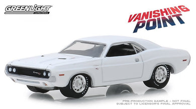 Vanishing Point, 1970 Dodge Challenger R/T, 1:64 Diecast Vehicle