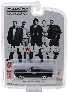 Entourage, 1965 Lincoln Continental, 1:64 Diecast Vehicle